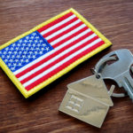 Key,From,Property,And,Usa,Flag.,Va,Loan,Mortgage,Concept.
